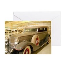 1933 Packard Sedan Greeting Card