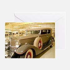 1933 Packard Sedan Greeting Card