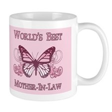 World's Best Mother-In-Law (Butterfly) Mug