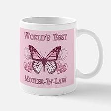 World's Best Mother-In-Law (Butterfly) Mug