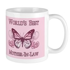 World's Best Mother-In-Law (Butterfly) Coffee Mug