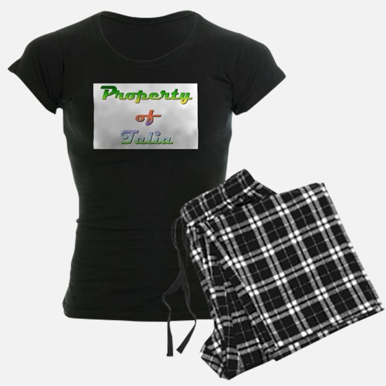 Property Of Talia Female Pajamas
