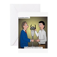 Bad Committee Practices Greeting Cards (Pk of 20)