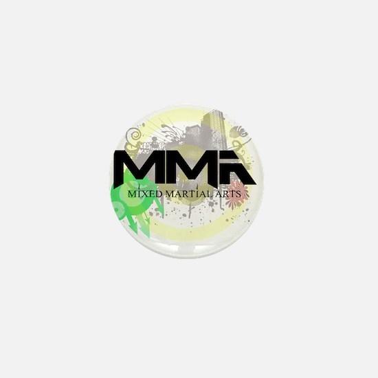 Mixed Martial Arts Graffiti Mini Button