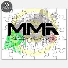Mixed Martial Arts Graffiti Puzzle