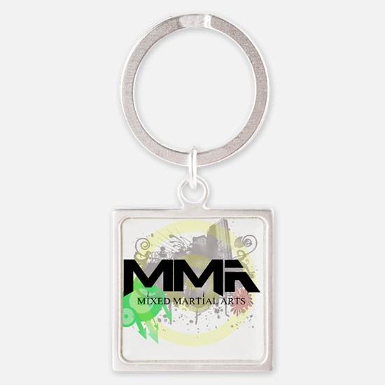 Mixed Martial Arts Graffiti Keychains