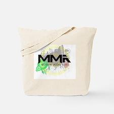 Mixed Martial Arts Graffiti Tote Bag