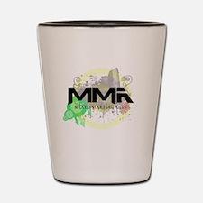 Mixed Martial Arts Graffiti Shot Glass