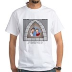 Stained Glass Window White T-Shirt