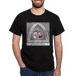 Stained Glass Window Dark T-Shirt