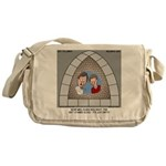 Stained Glass Window Messenger Bag