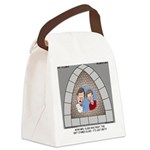 Stained Glass Window Canvas Lunch Bag