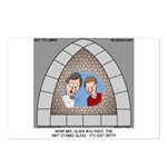 Stained Glass Window Postcards (Package of 8)