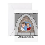 Stained Glass Window Greeting Cards (Pk of 10)