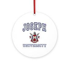 JOSEPH University Ornament (Round)