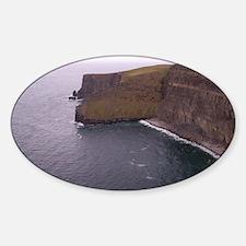 Cliffs in Ireland Decal