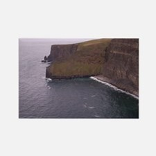Cliffs in Ireland Rectangle Magnet