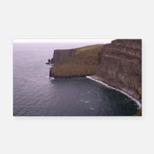 Cliffs in Ireland Rectangle Car Magnet