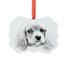 Cavalier King Charles Spaniel Ruby Ornament