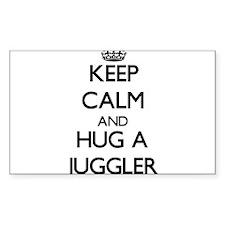 Keep Calm and Hug a Juggler Decal
