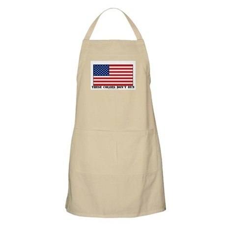 These Colors Don't Run BBQ Apron
