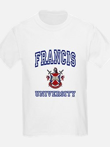 FRANCIS University Kids T-Shirt