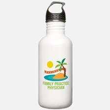 Retired Family Practice Physician Water Bottle