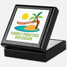 Retired Family Practice Physician Keepsake Box