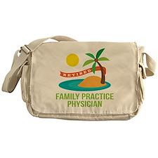 Retired Family Practice Physician Messenger Bag