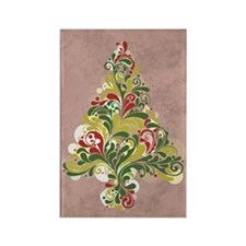 COUNTRY CHRISTMAS Rectangle Magnet