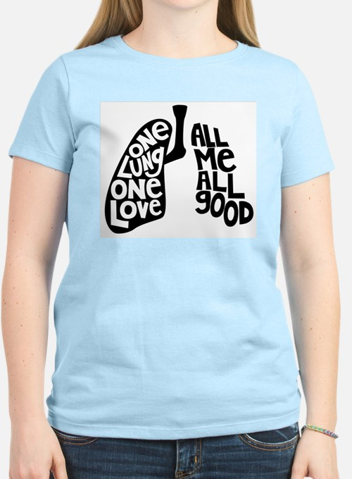 One Lung One Love - Righty T-Shirt