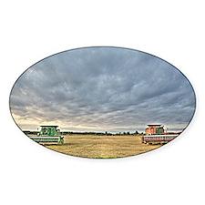 Tractors at Dawn Decal