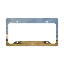 Tractors at Dawn License Plate Holder