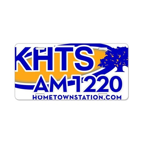 KHTS Logo Aluminum License Plate