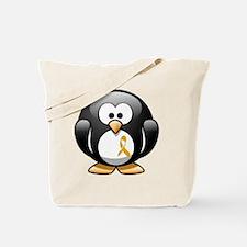 childhood penguin 2 Tote Bag