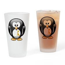 childhood penguin 2 Drinking Glass