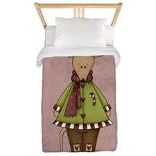 COUNTRY CHRISTMAS Twin Duvet