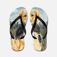 golden hunter Flip Flops