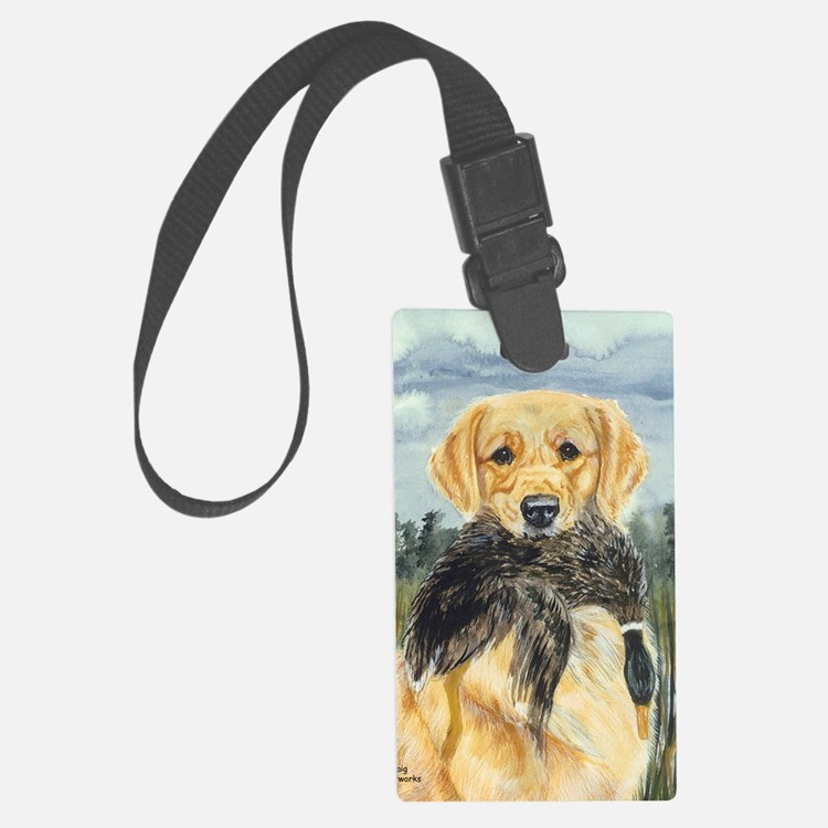 golden hunter Luggage Tag