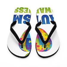 awarenessAut1A Flip Flops