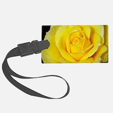 Beautiful single yellow rose Luggage Tag