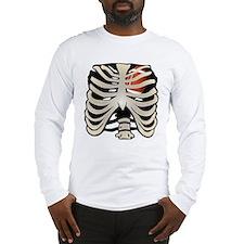 Football Heart Long Sleeve T-Shirt