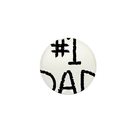 Number 1 dad Mini Button