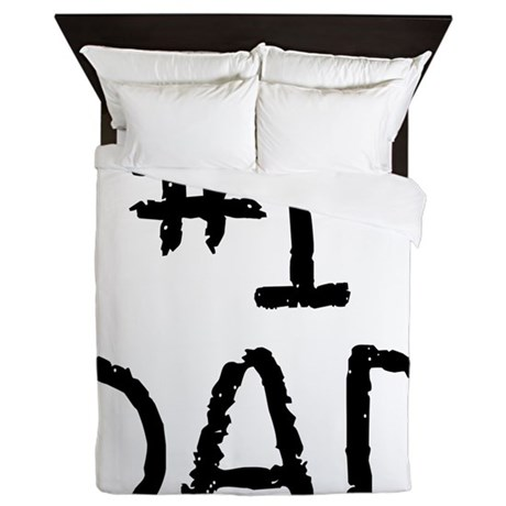 Number 1 dad Queen Duvet