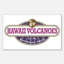 Hawaii Volcanoes National Park Decal