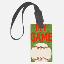 Baseball My Game Luggage Tag
