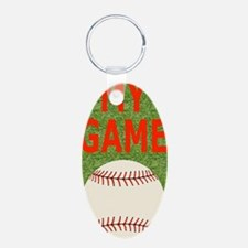 Baseball My Game Keychains