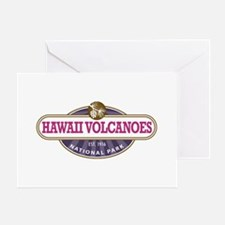Hawaii Volcanoes National Park Greeting Cards
