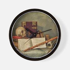 Nicolas Henri Jeaurat de Bertry Vanitas Wall Clock
