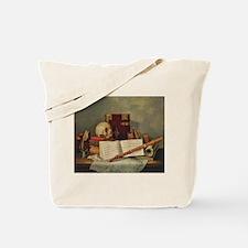 Nicolas Henri Jeaurat de Bertry Vanitas Tote Bag